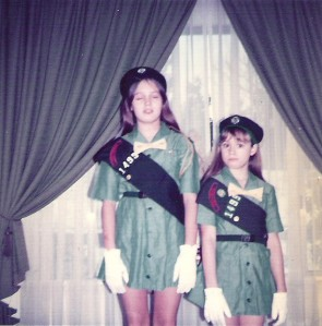 GailandmeGirlscouts1972