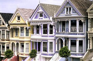Victorian Houses, San Francisco